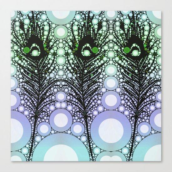 Tickler 2 (color option) Canvas Print
