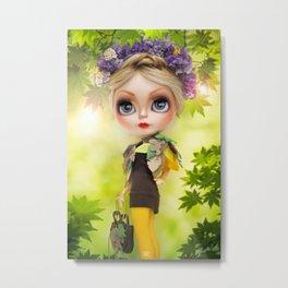 Erregiro Blythe Custom Doll SPRING TIME Metal Print