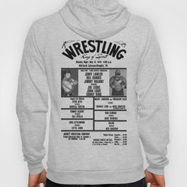 #7 Memphis Wrestling Window Card Hoody