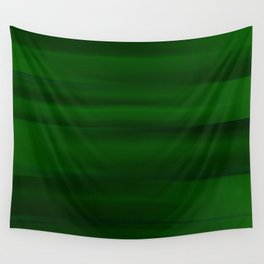 Emerald Green and Black Abstract Wall Tapestry