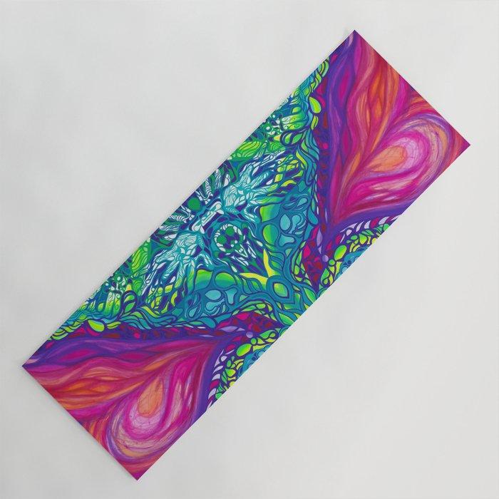 Soulful colors Yoga Mat