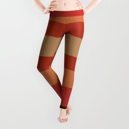 Earthy Terracotta - Color Therapy Leggings