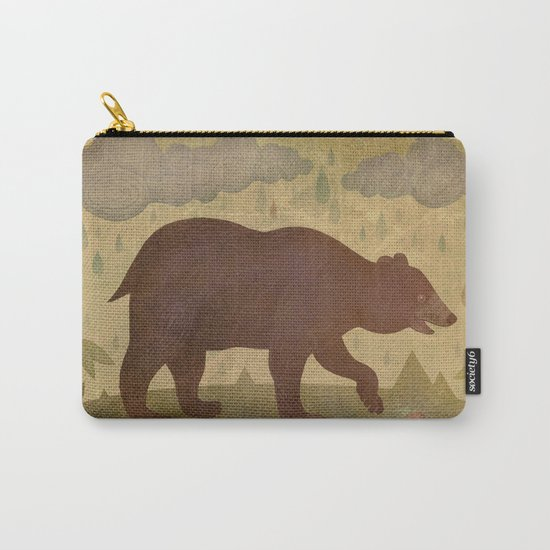 American black bear Carry-All Pouch