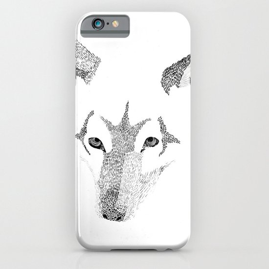 Red Wolf - Can You See How Much Is Left? iPhone & iPod Case