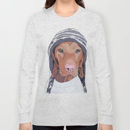 Vizsla Dog Long Sleeve T-shirt