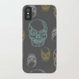 Flirty Skulls iPhone Case