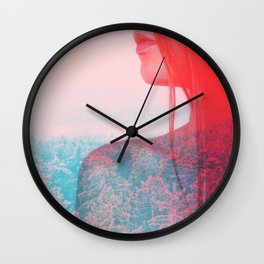 Alter Ego #society6 #decor #buyart Wall Clock