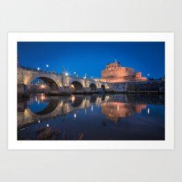 Castel Sant'Angelo Art Print