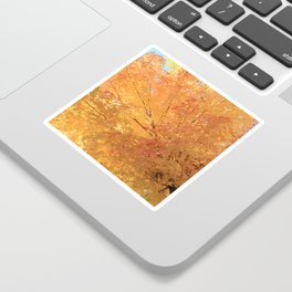 Autumn Explosion Sticker
