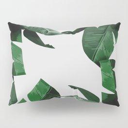 Banana Palm Leaves Pillow Sham