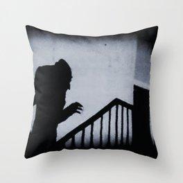Nosferatu Classic Horror Movie Throw Pillow