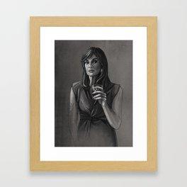 DALLAS - SUE ELLEN EWING Framed Art Print