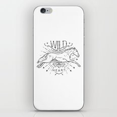 wild at heart iPhone & iPod Skin