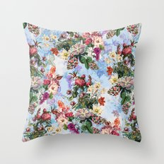 Summer Botanical Garden IX-II Throw Pillow