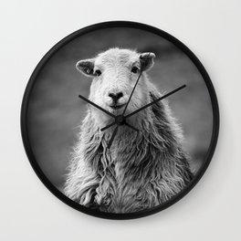 Happy Sheep Wall Clock