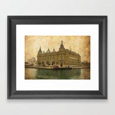Haydarpasa Railway Station Framed Art Print