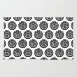 Beer can seamless pattern Rug