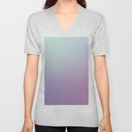SLEEPYHEAD - Minimal Plain Soft Mood Color Blend Prints Unisex V-Neck