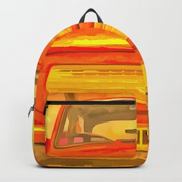 Trabant Pop Art Backpack