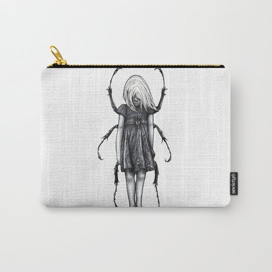 Beetlegirl Carry-All Pouch