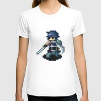 fire emblem T-shirts featuring Chrom Pixels - Fire Emblem Awakening by MKwon