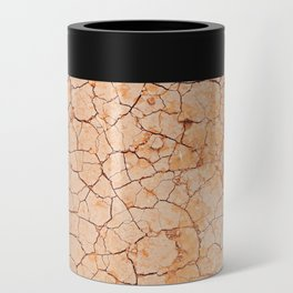 Cracked dry land pattern Can Cooler