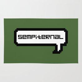 Sempiternal - Green Rug
