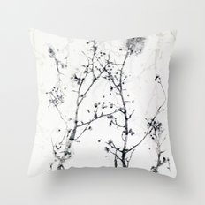 Gunpowder Branches Throw Pillow