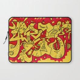 Graffiti Character Mashup Laptop Sleeve