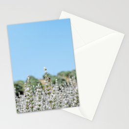 SHADES OF WHITE Stationery Cards