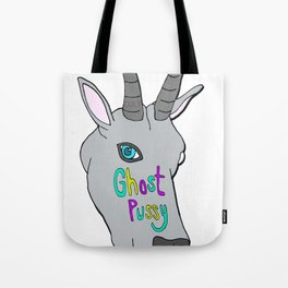 ghost goat Tote Bag