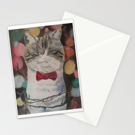 Adam the Christmas Cat Stationery Cards
