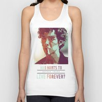 forever young Tank Tops featuring Forever Young by InariRaith