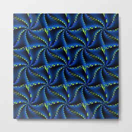 Synchronized Swimming... Metal Print