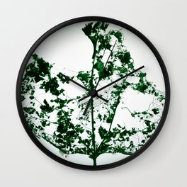 Pressed Against the Sky Wall Clock