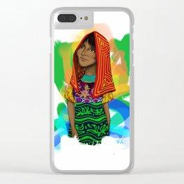 Ustup - kuna/guna girl Clear iPhone Case