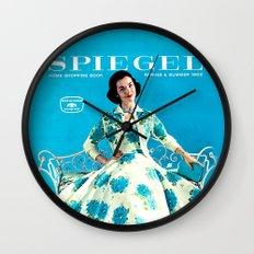 1958 Spring/Summer Spiegel Catalog Wall Clock