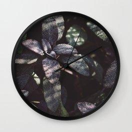 Dewy Purple Sage Wall Clock