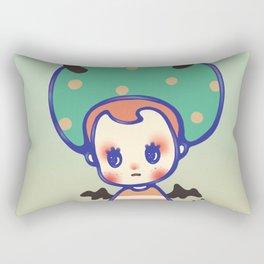 i need some courage Rectangular Pillow