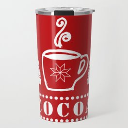 peppermint cocoa Travel Mug