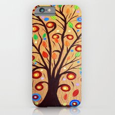 Abstract tree 4 Slim Case iPhone 6s