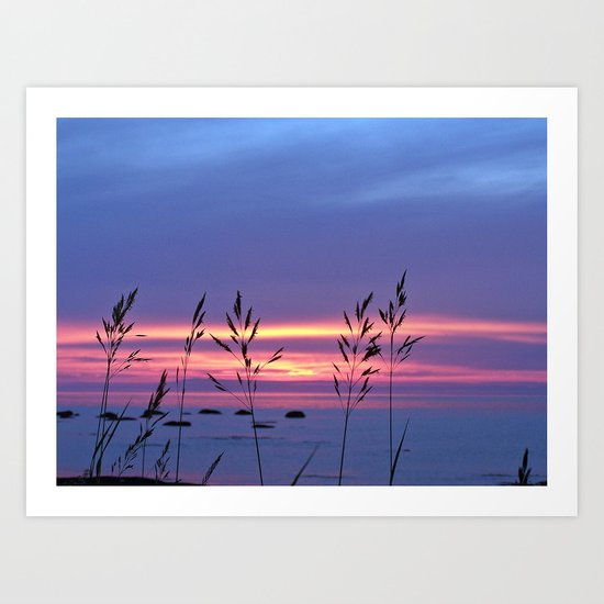Simplicity by the Sea Art Print