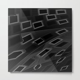 Tiles 3 Metal Print