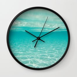 clear sea  Wall Clock