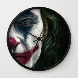 Joker - Digital painting Wall Clock