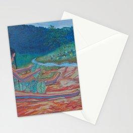 Eve opposite the garden of Eden Stationery Cards