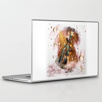 champagne Laptop & iPad Skins featuring champagne by Nathalie56