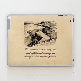 A Farewell to Arms - Hemingway Laptop & iPad Skin