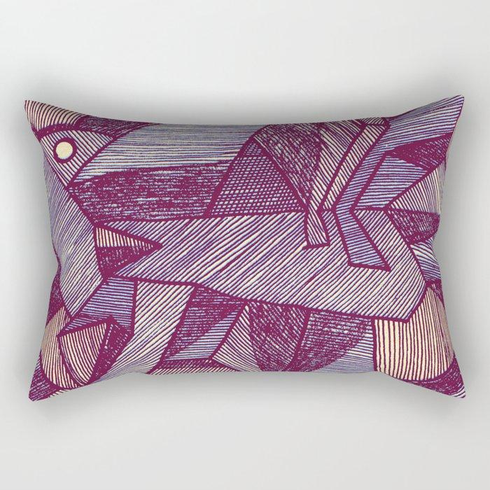 - batpunk - Rectangular Pillow