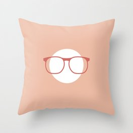 Head On Throw Pillow